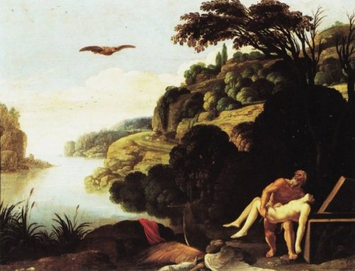 Landscape With Burial Of Icarus