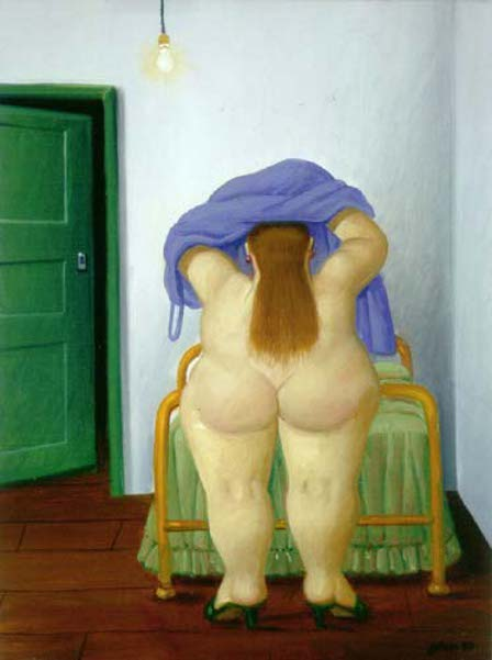 Woman Undressing