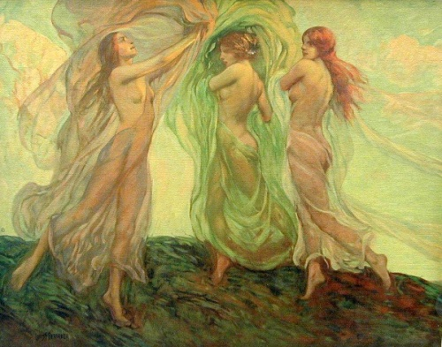 Dancing Nymphs - Three Dancers