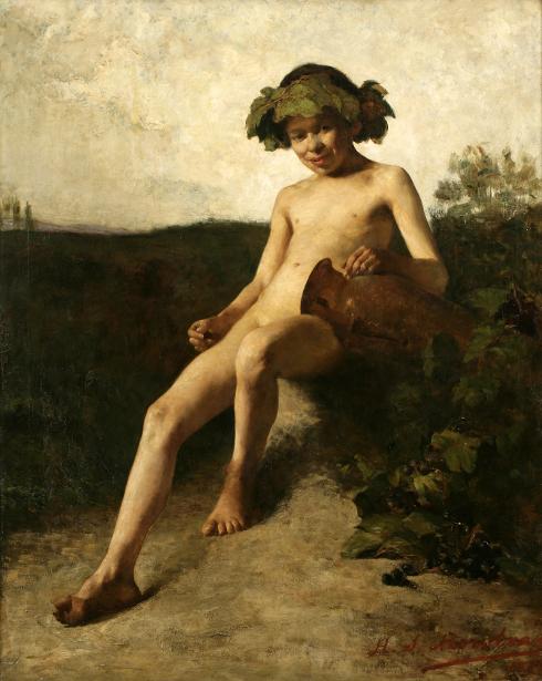 Infant Bacchus