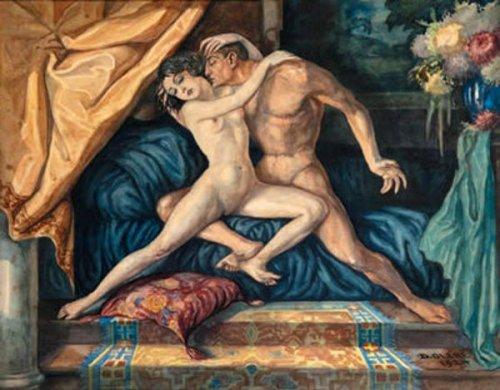 Couple en ébats