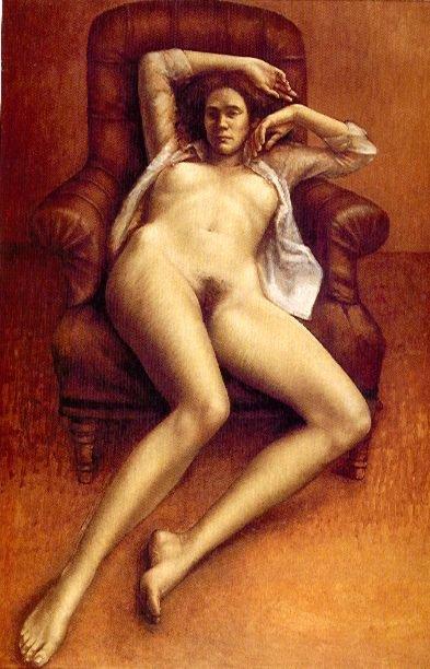 Desnudo en el sillon