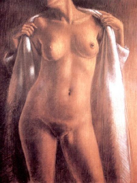 Mujer desvistiendose