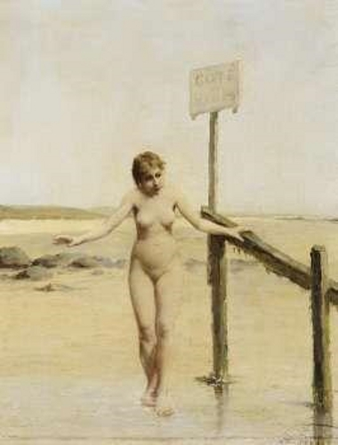 On The Ladies' Beach