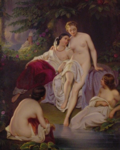 Bathing Venus