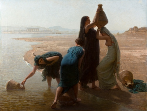 Les femmes Fellahs au bord du Nil