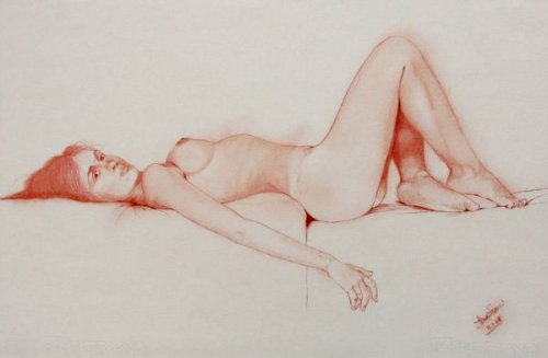 Reclining Nude 850