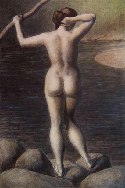 Ryggakt (Back Nude)
