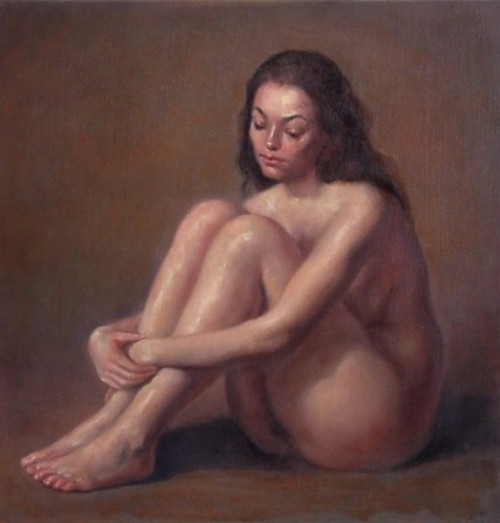 Sittende pike (Seated Girl)