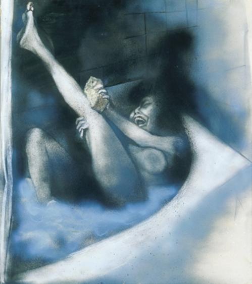 Donna nella vasca da bagno (Woman In The Bathtub)