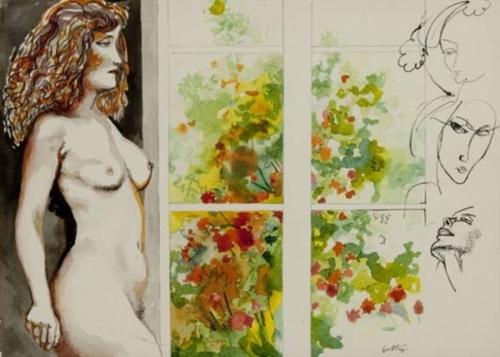 Nudo alla finestra (Nude By The Window)
