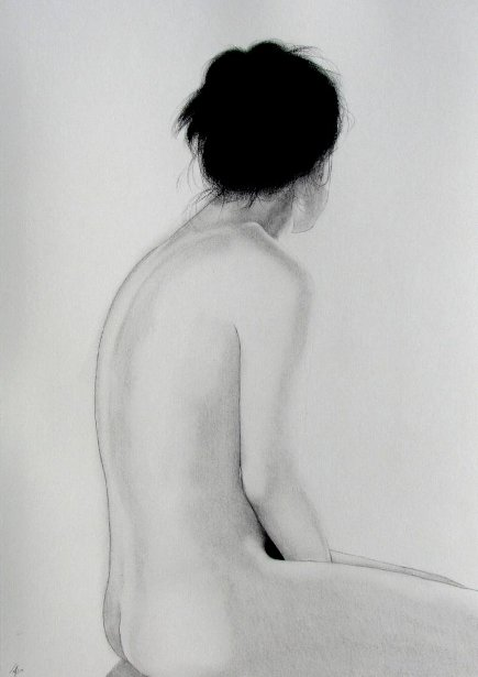 Sitting Nude 859