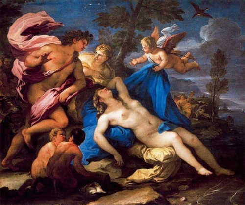 Bacchus And Sleeping Ariadne