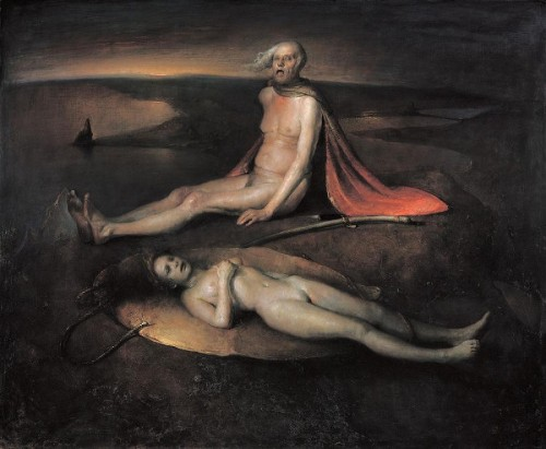 Old Man With A Dead Maiden