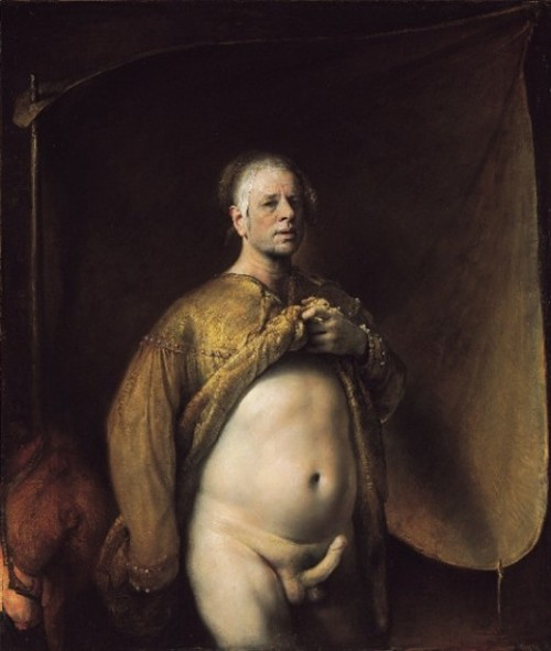 Self Portrait With Golden Robe