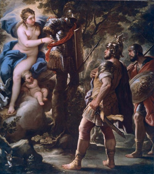 Venus Giving Weapons To Aeneas