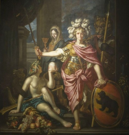 Allegory Of The Republic Of Bern (detail)