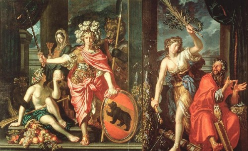 Allegory Of The Republic Of Bern