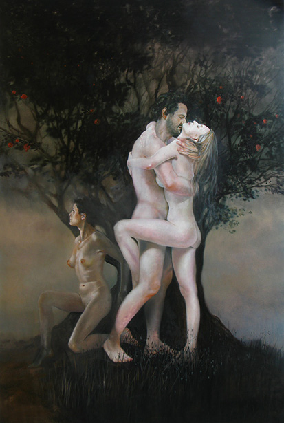 Expulsion From Paradise: Eve And Lilith