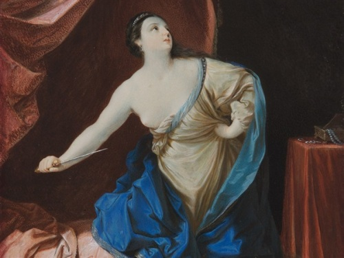 Lucretia (after Guido Reni)