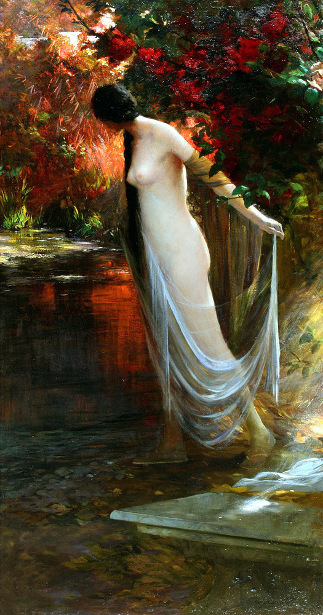 Ophelia At The River's Edge