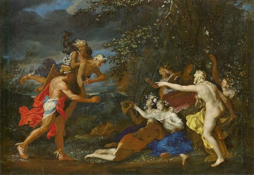 Perseus With The Nymphs