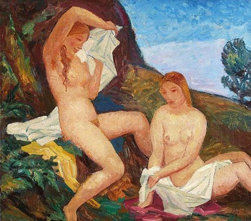 Two Female Nude