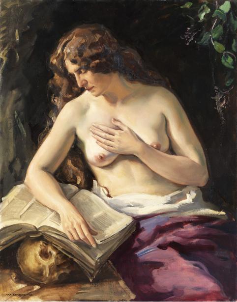 Vanitas - Nude With Skull