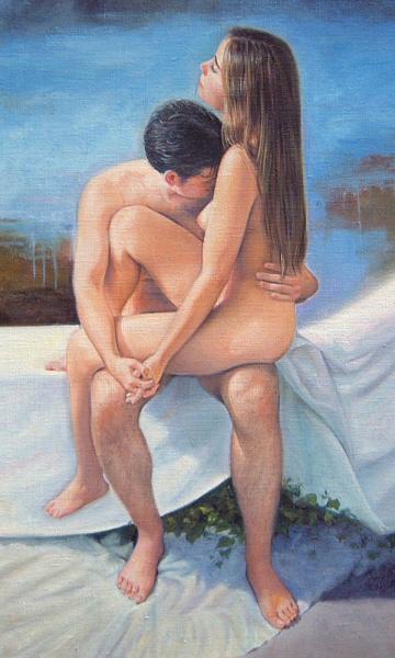 Desnudo de hombre y mujer