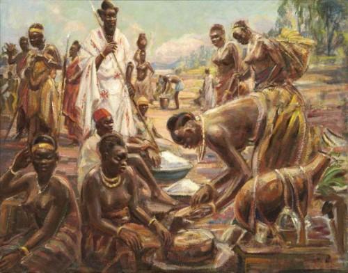 Marché au Rwanda