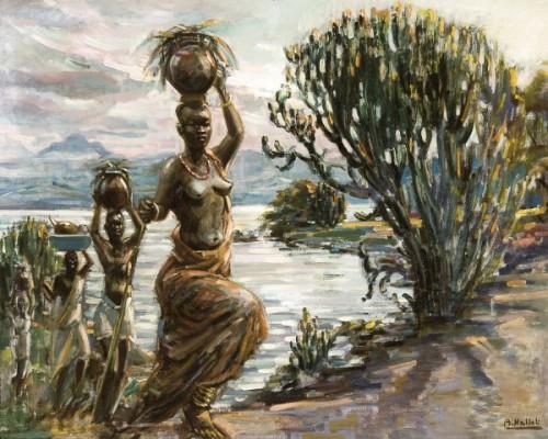 Porteuses au Lac Kivu