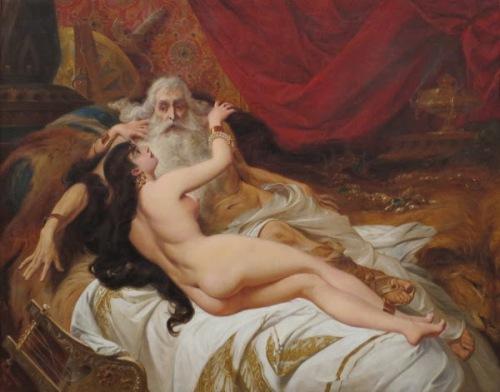 King David And Abisag