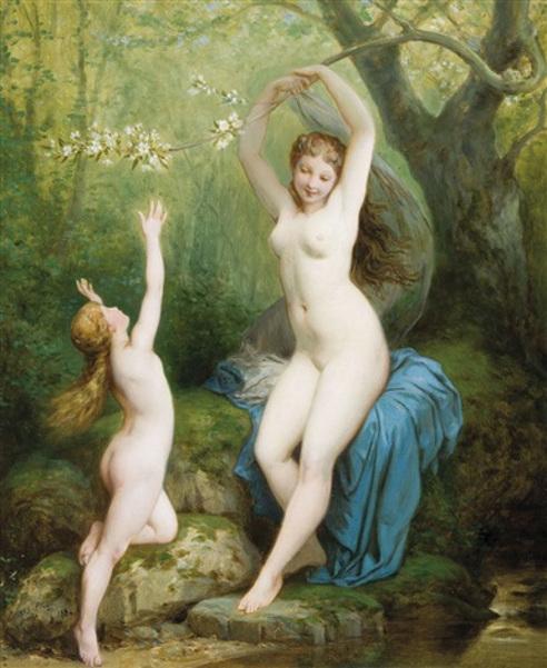 Deux Nymphes