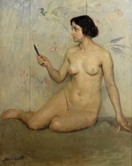 femme-nue-assise