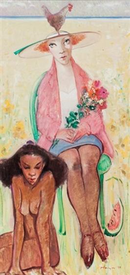 Flowers For Mr. Gauguin
