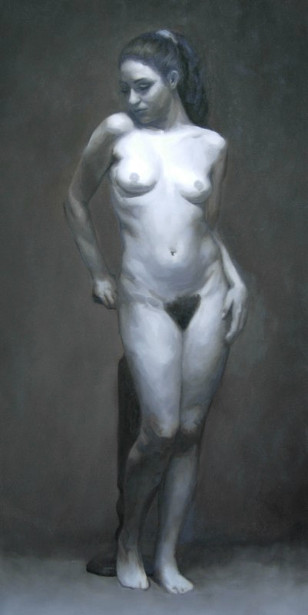 Grisaille Female Study