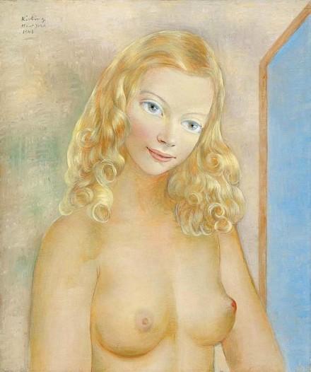 Jeune blonde