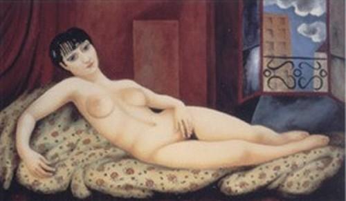 Large Reclining Nude, Kiki