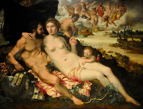 Mars And Venus Surprised By Vulcan