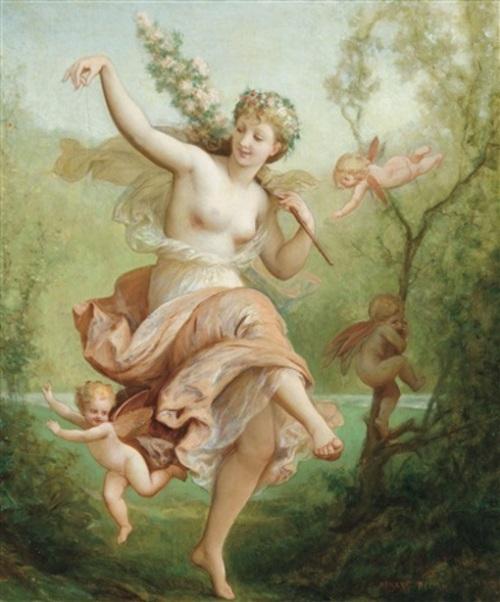 Nymphe dansant