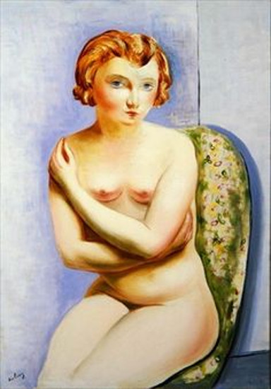 Seated Nude With Crossed Arms
