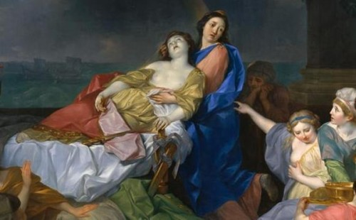 The Death Of Dido (detail)