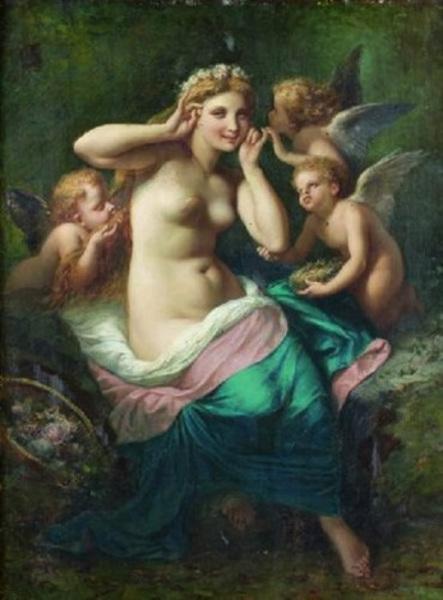 Venus entourée de Putti