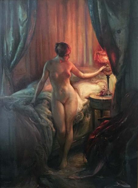 Dans le boudoir