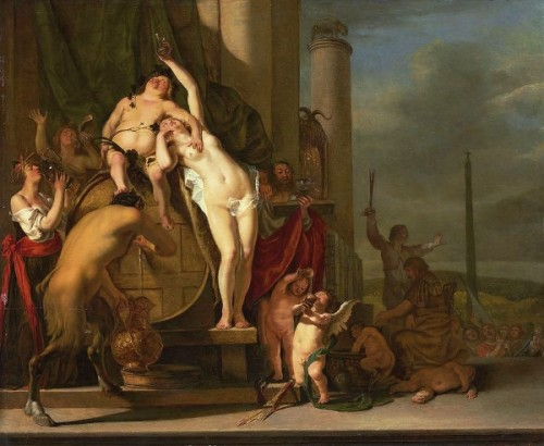 Landscape With A Bacchanal