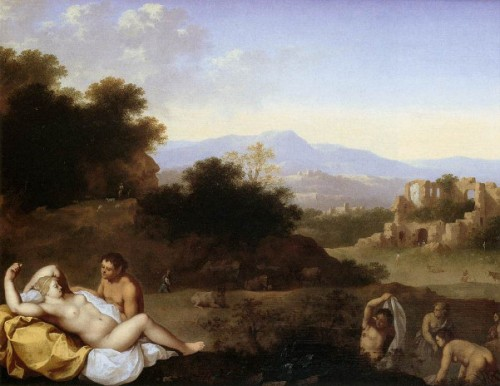 Landscape With Nymphs