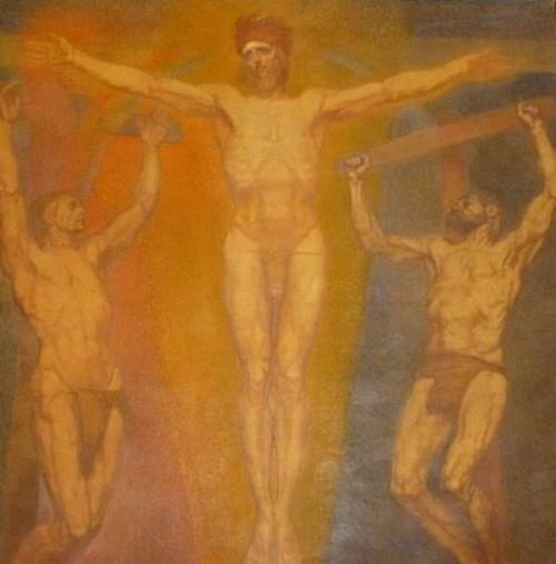 Le Christ entre les larrons