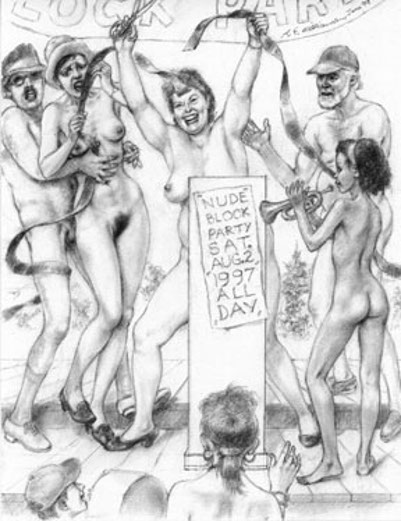 Nude Block Party