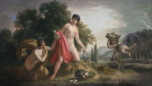 Venus, Cupid And Peristera