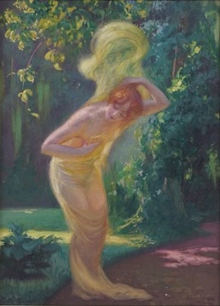 A Woodland Nymph